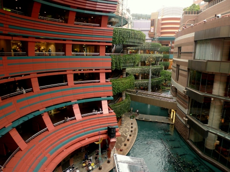 inside canal city
