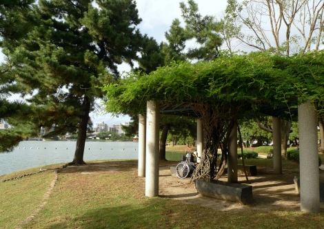 beautiful folly in the park