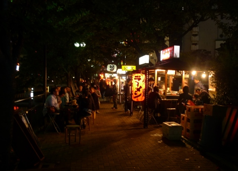 Yatai - an uniquely Fukuoka feature