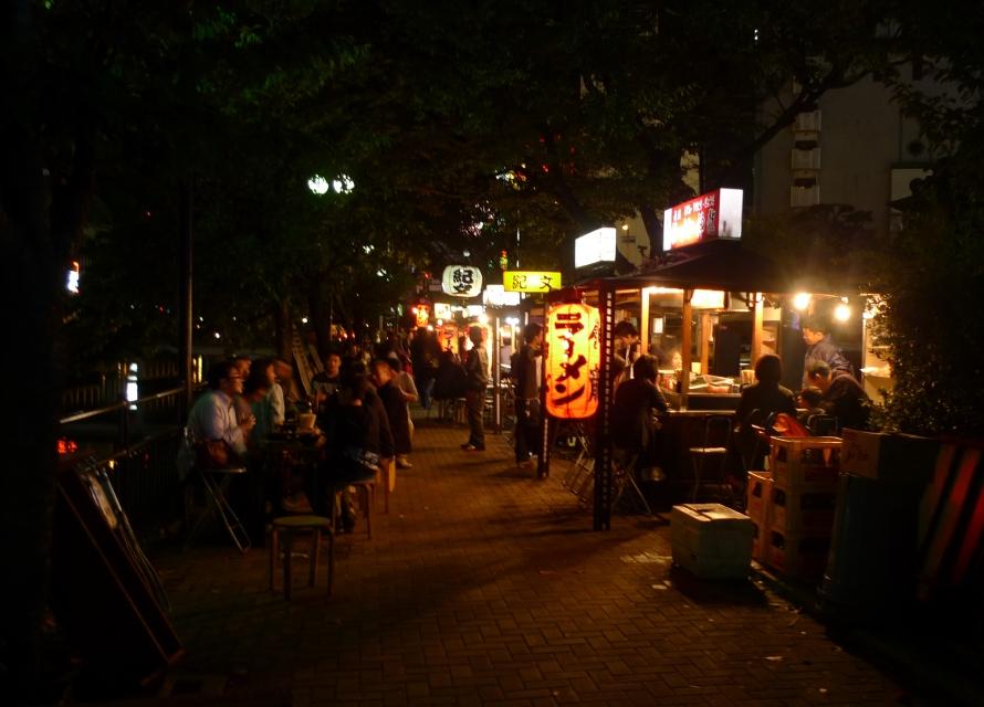 Yatai - an uniquely Fukuoka feature