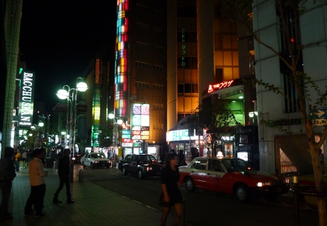 nakasu at night