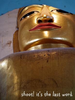 big buddha @ mingalar zedi