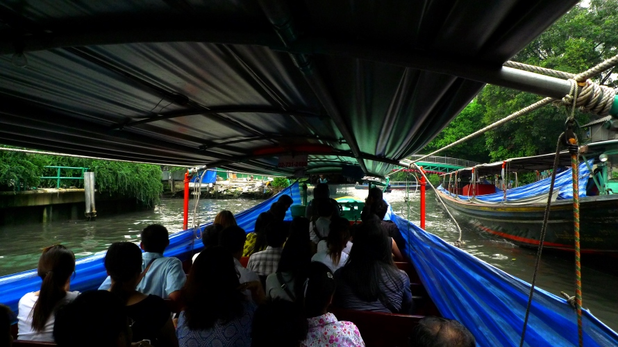 canal boat ride