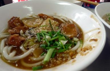 delicious 'dry' noodles