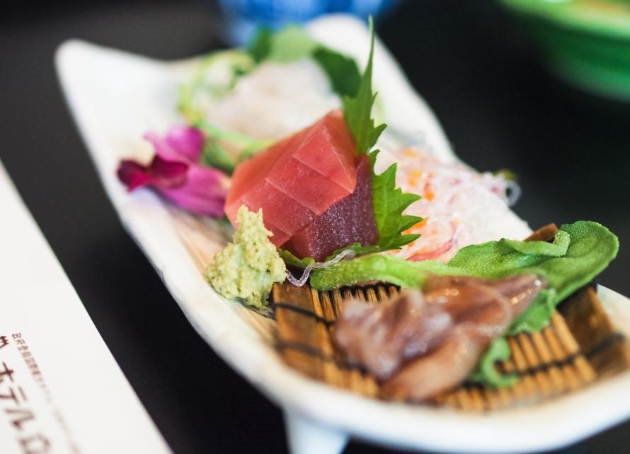 sashimi - not mine, obviously