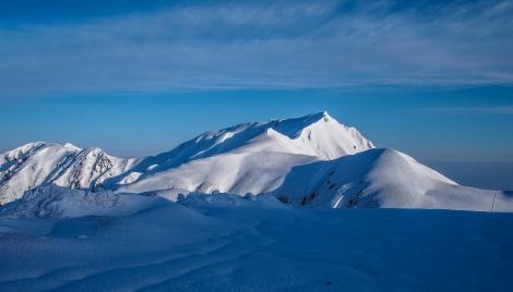 bigger snow mountain