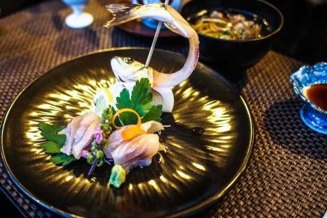 sashimi - so fresh even i could eat it