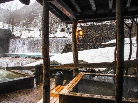 the outdoor mixed bath
