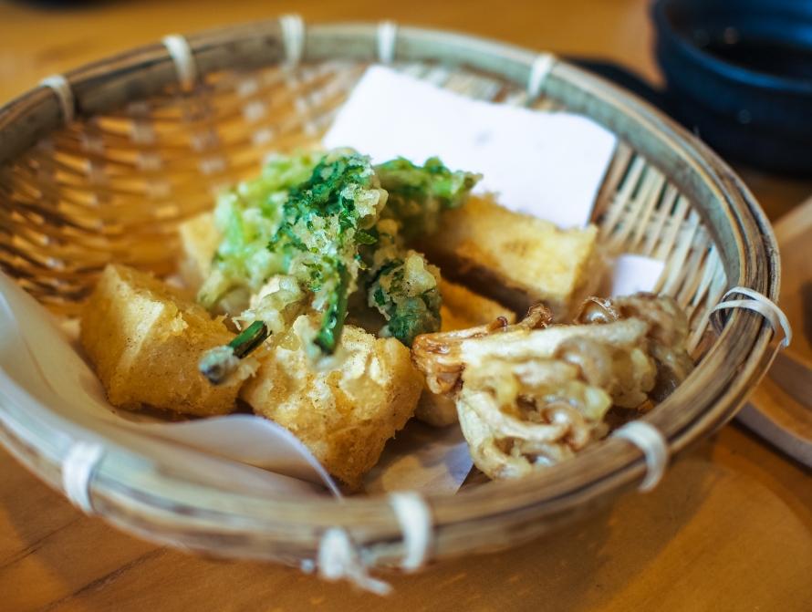 beancurd tempura