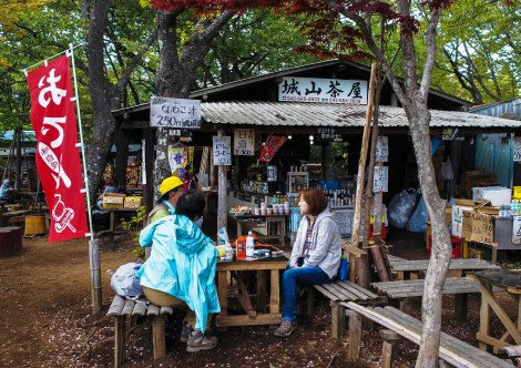 teashop at one of the hill stations