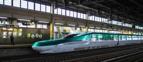 the new shinkansen
