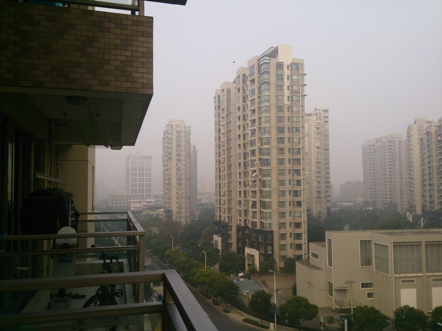 the morning after - no more pearl tower :(