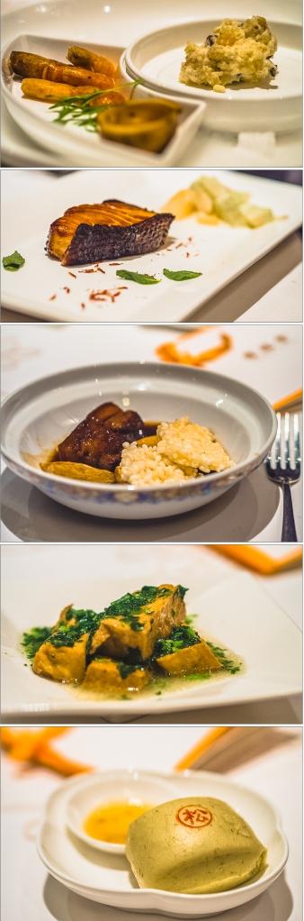 degustation dinner at xxx