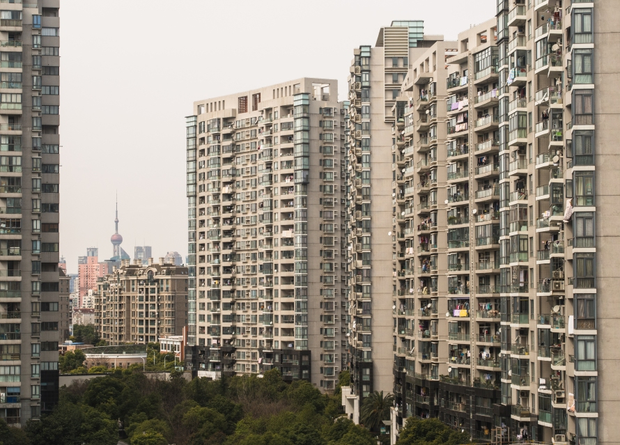 from ching's apartment in pudong