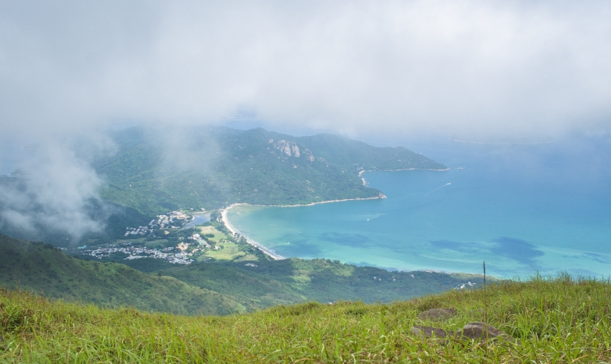 beautiful bay from the top