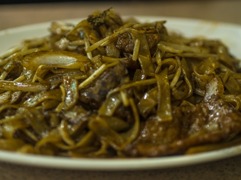 couldn't get enough of beef fried kway teow