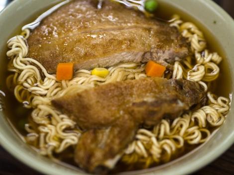 pork chop instant noodles