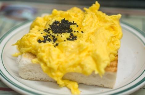 truffle scrambled egg