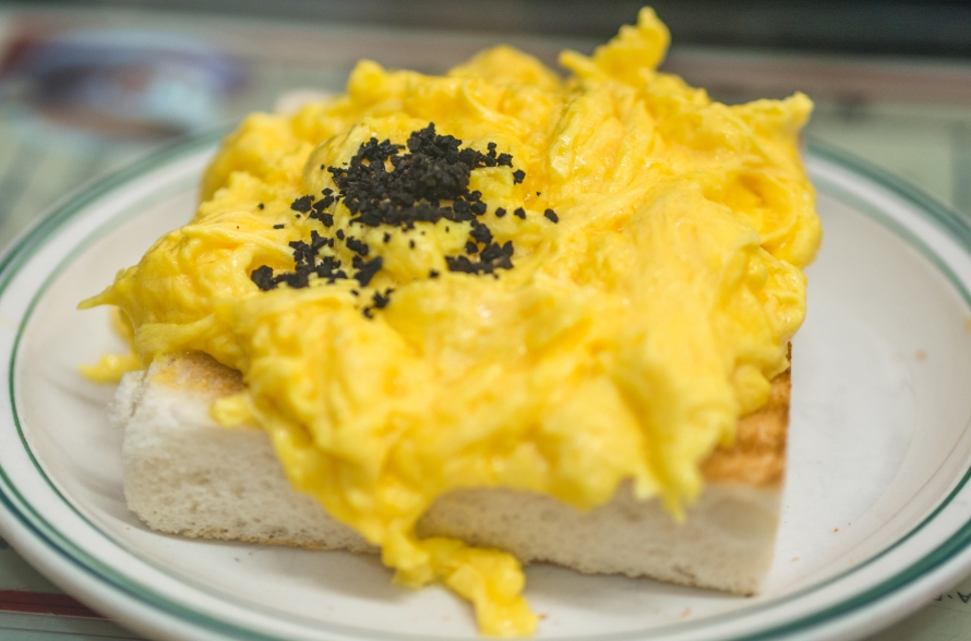 truffle scrambled egg