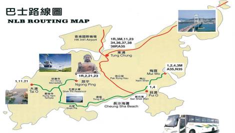 lantau bus routes
