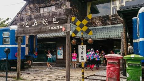old train station-turned restaurant