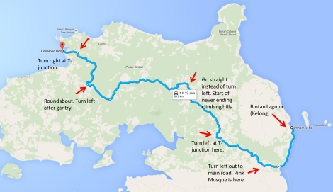 day 1 route