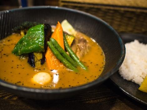soup curry - a hokkaido specialty
