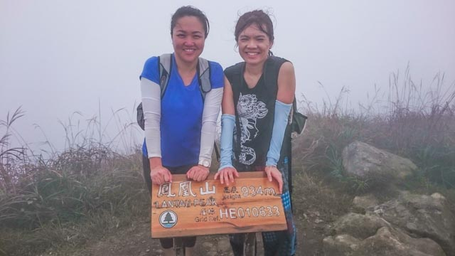 lantau peak at last!