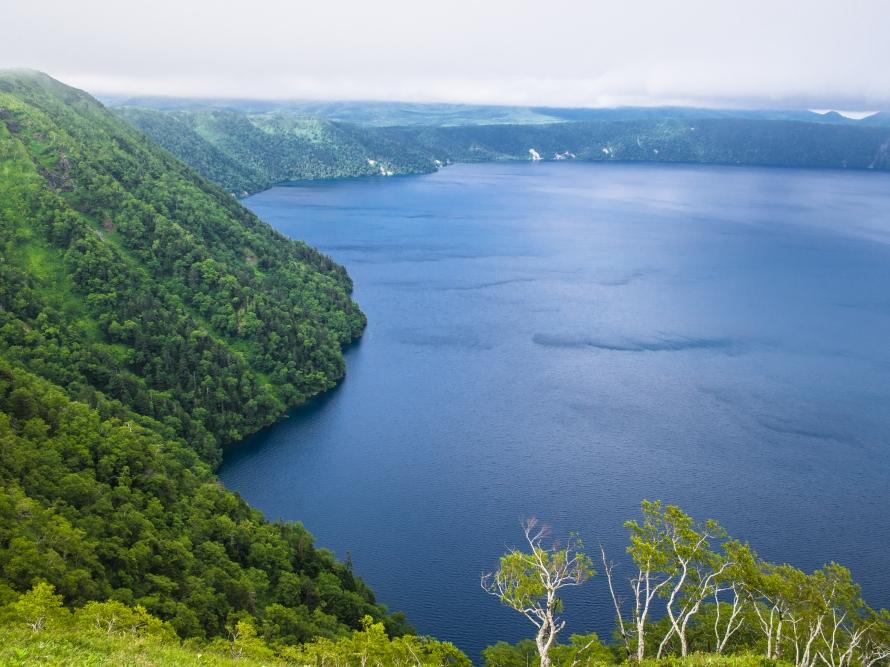 lake mashu from 3