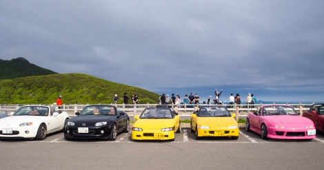 these sports cars made a pact to take a photo together