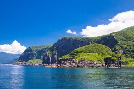 from the cruise - shiretoko peninsula