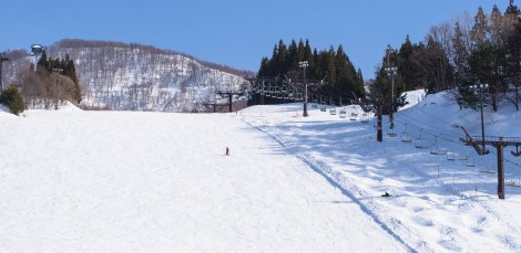 ski slope nearest the ground