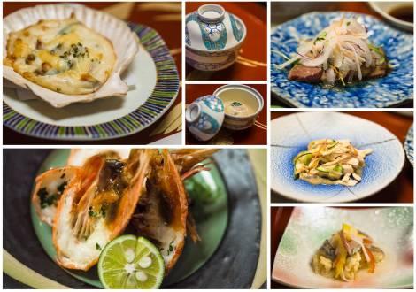 dinner - the full spread