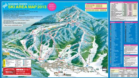 nozawa ski course