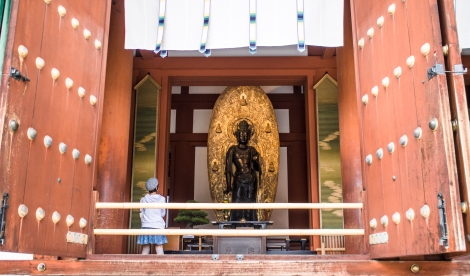 buddha, yakushiji, nara