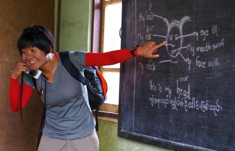 stand in teacher
