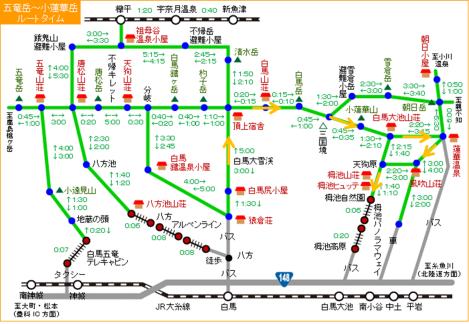 the original route