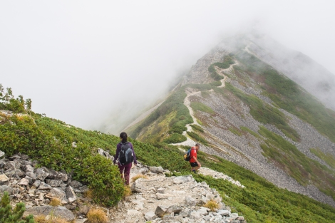 walk on the ridge