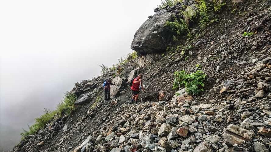 navigating some very narrow paths