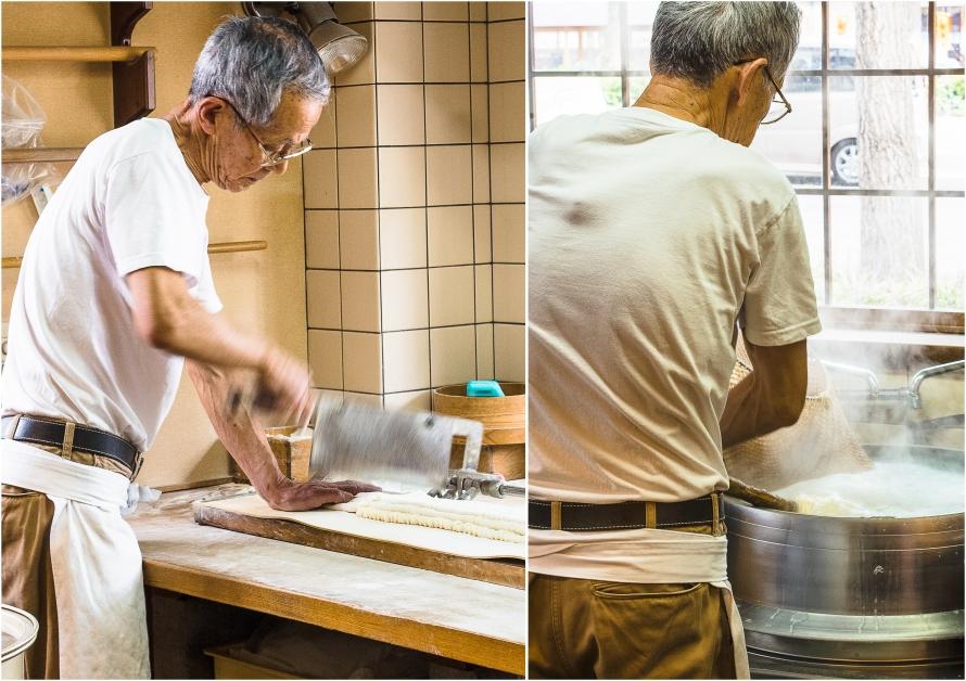 udon-making live