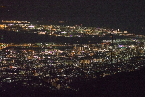 view from rokko