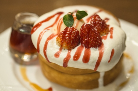 souffle pancake - hoshino cafe