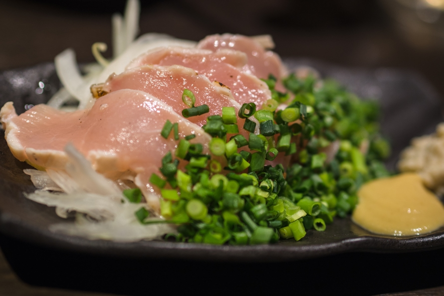 chicken sashimi