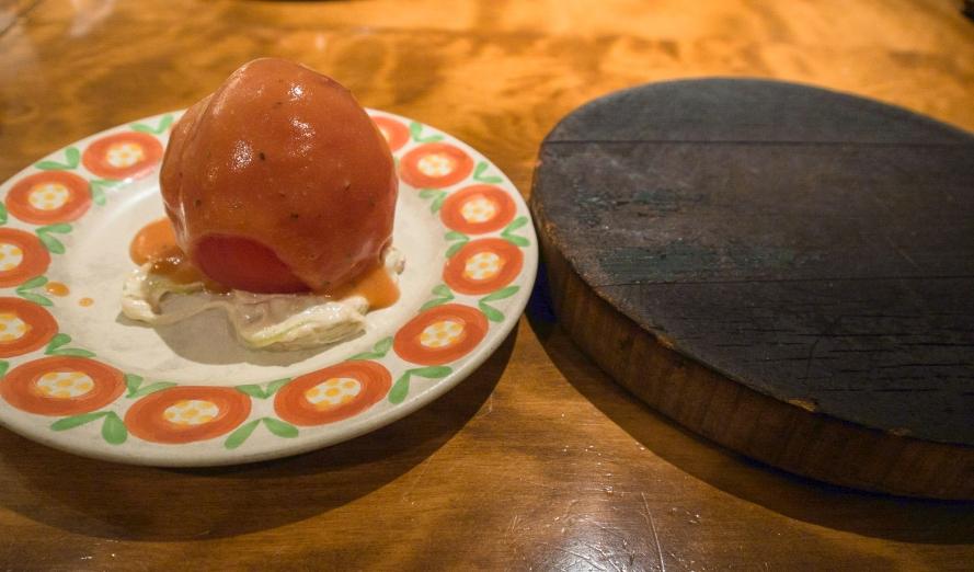 appetizer - cold tomato