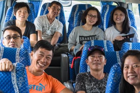 on the way from hanoi to sapa