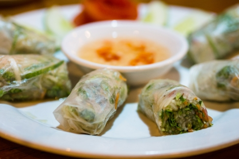 another type of spring roll