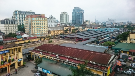 train station, hanoi