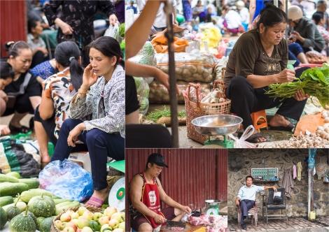 cao bang morning market
