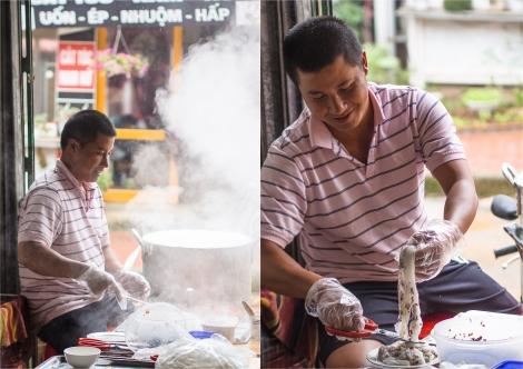 making banh cuon