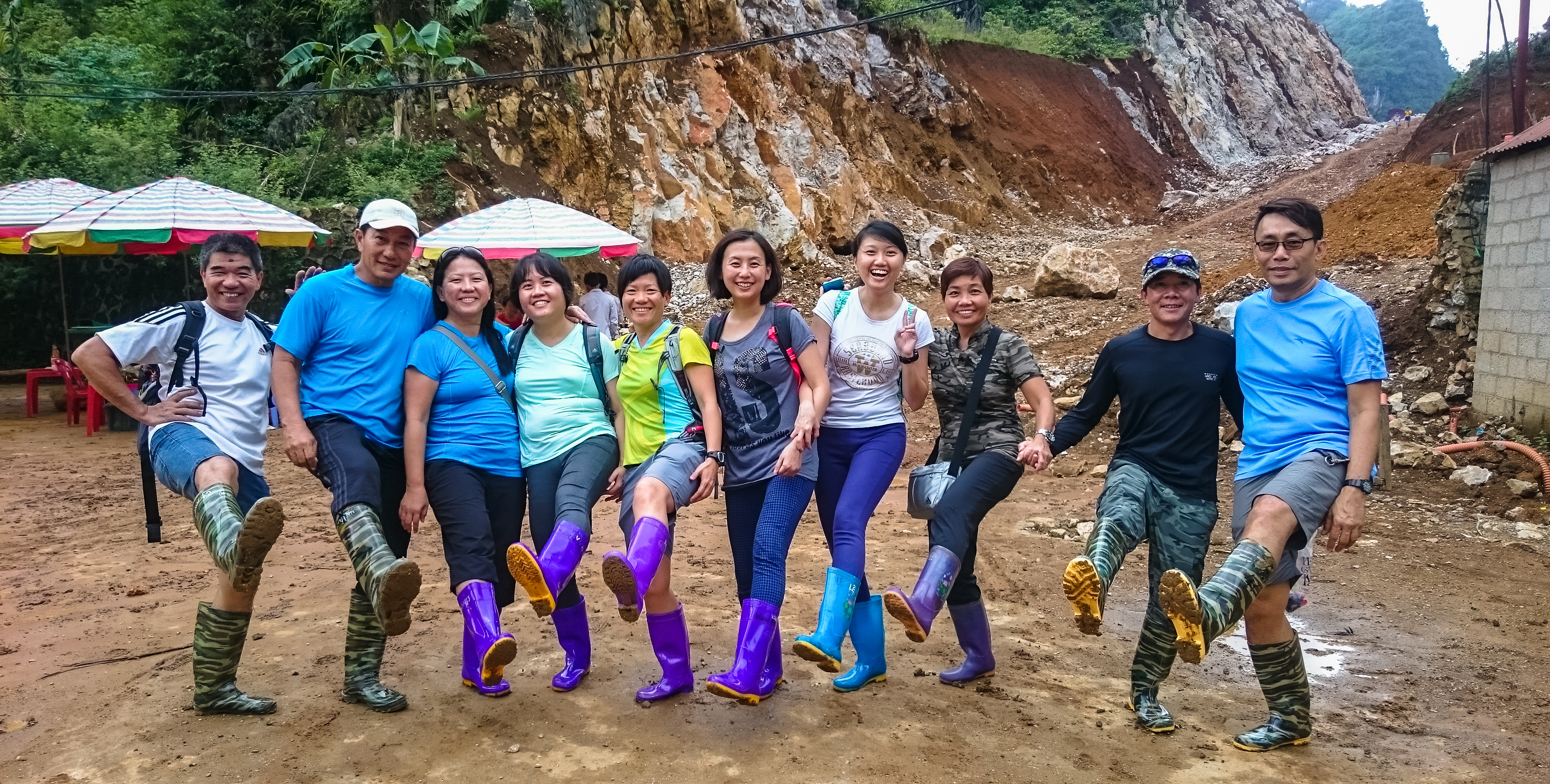 check out our plastic boots!